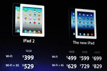 新iPad售价放出 同时iPad2降价