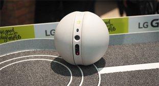 LG机器人小球上手:喵星人的最佳玩具