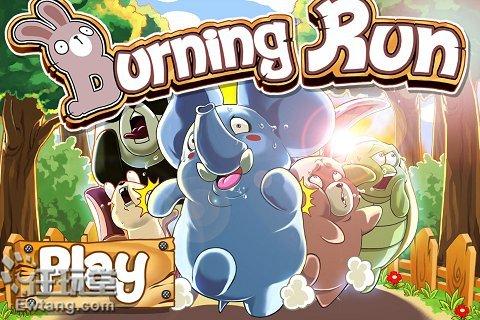 iphone游戏burning run:森林动物大救援