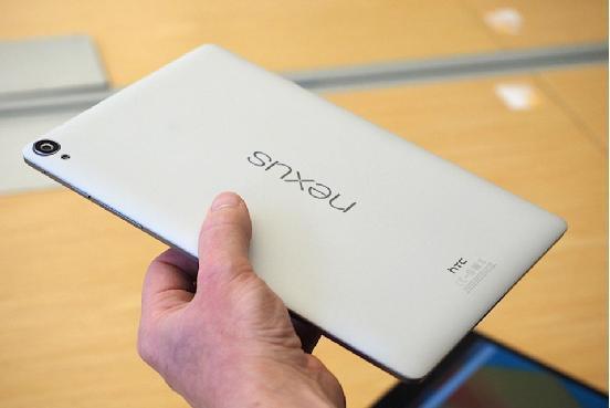 驚艷:Nexus 9最終零售版開箱