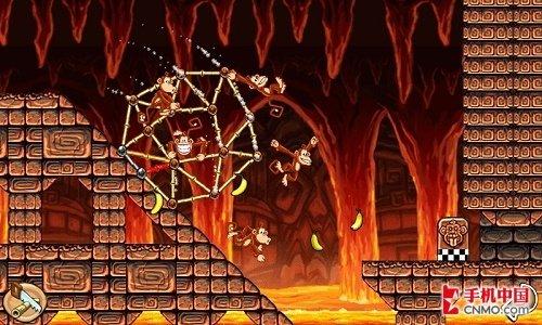 游戏拯救猴子Tiki Towers登陆WP7平台
