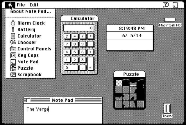 Windows/Android/WP等系統小部件30年回顧