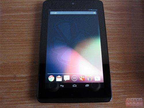 谷歌Nexus 7屏幕现残影 正式版将解决