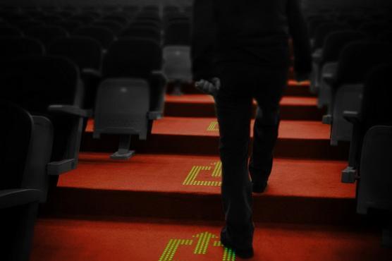 飞利浦推出LED地毯 内部集成一层超薄灯