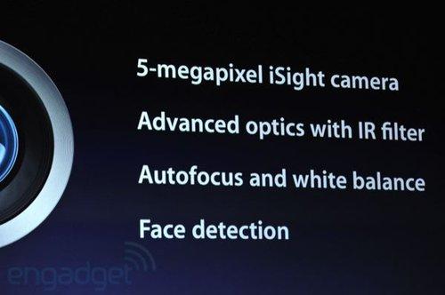 新iPad配500万摄像头 可录1080p视频