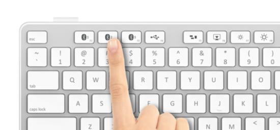 果粉专用无线键盘亮相 可在多部设备间切换
