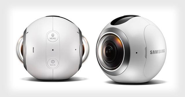 三星Gear 360全景相机开售 比别人家的贵一倍