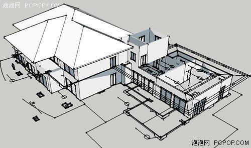 浩辰cad教程建筑之别墅设计 上