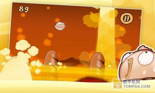 安卓游戏飞奔的面包 饿的时候玩最有感觉