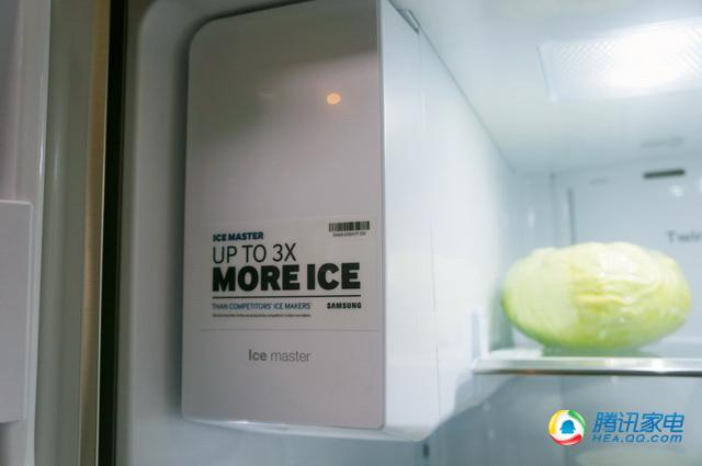 三星超大容量智能冰箱体验 能看电视能打电话
