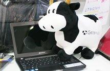 Acer子品牌Gateway以奶牛为标志