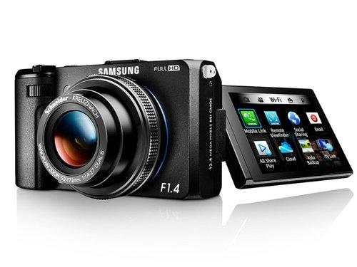 内置Wi-Fi功能 三星发布高端相机EX2F