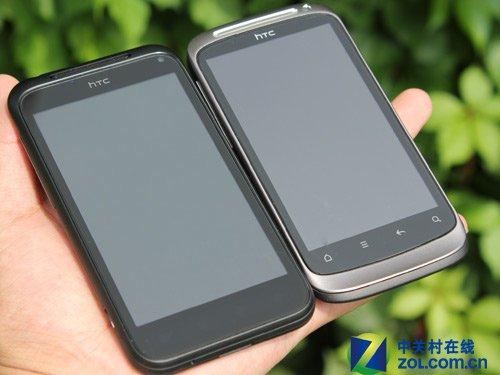 HTC Desire S/Incredible S对比