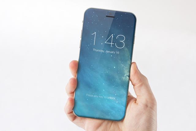 传iPhone 8采用弧面无框设计 5.8英寸版配OLED屏
