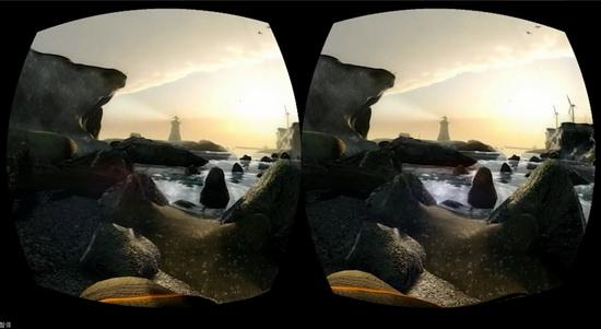 四款虚拟现实游戏大作亮相 号称仅是冰山一角