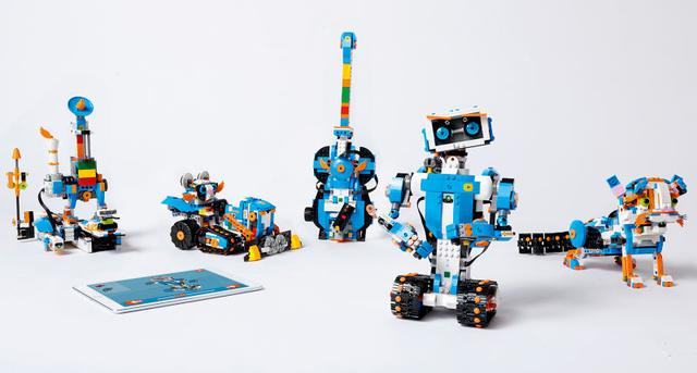 乐高推出可编程积木 快带孩子边学边造机器人吧