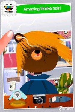 触控操作新体验 iPhone游戏小小发型师