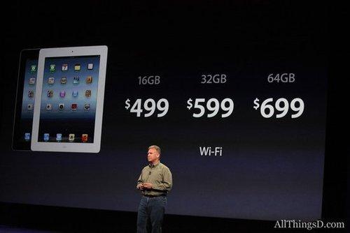 资本市场看淡新iPad 苹果股价跌0.12%