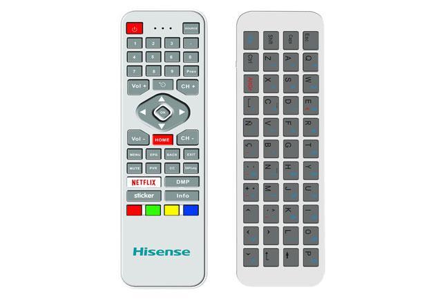海信空鼠遥控器亮相 配实体全键盘售价99元|海信|遥控器