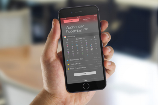 带你扒一扒iOS 10系统中很有意思的桌面小部件