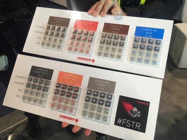 樱桃发布全新机械键盘 黑轴红轴都有了静音版