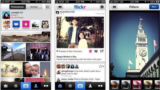 【米转载】flickr pro将限免3个月 矛头直指instagram图片