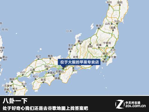 上谷歌地图来看一看
