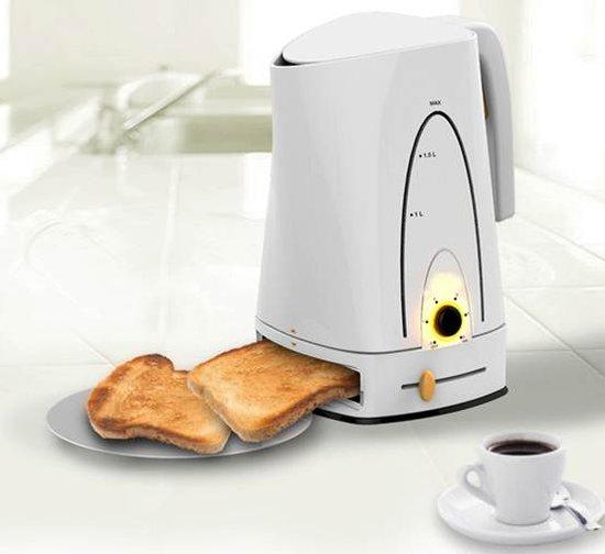 Baking Pot概念早餐机 可同时煮咖啡烤面包