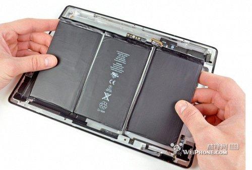 iPad 3电池模块更轻更薄续航更持久