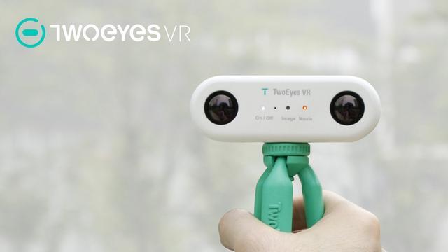 超小全景VR摄像机 双镜头+4K分辨率价格还便宜