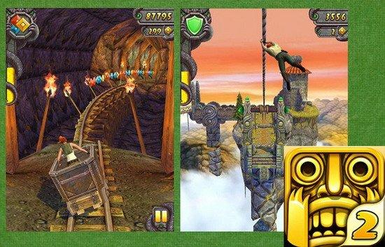 ...发挥平板电脑操作特性的出色游戏.   10. 神庙逃亡2(temple