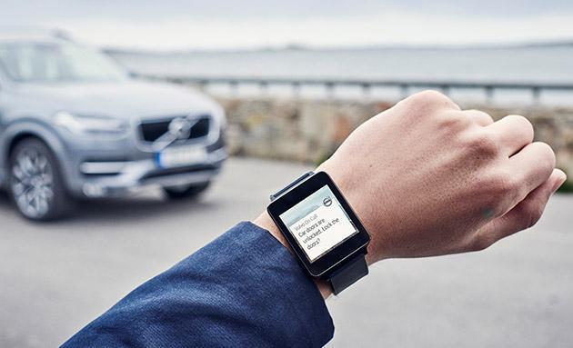 沃尔沃也推出智能手表App 可以远程控制汽车