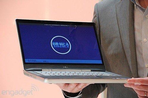 戴尔展示XPS 14z新本 下半年有望上市