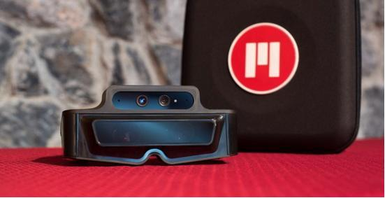 增强现实眼镜Meta 1:融合实景的全息图像