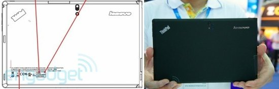 ThinkPad平板新品搭载Win8和英特尔CPU