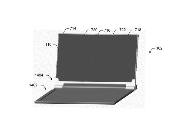 微软新专利泄露折叠手机 也许是Surface Phone