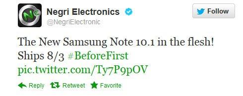 iPad死敌 三星Note10.1平板750美元预售