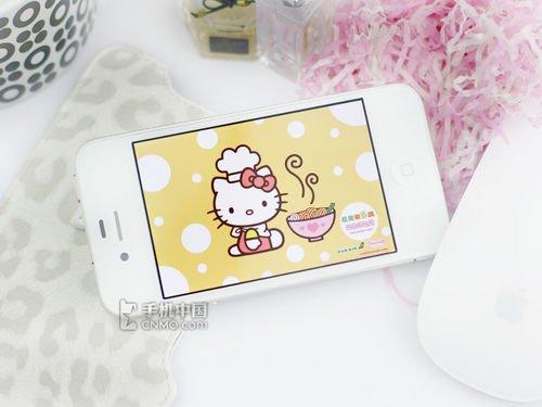 苹果iPhone 4港版新低 白色更具时尚