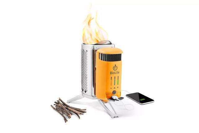 升级版野营炉 火转电让你在户外做饭娱乐不耽误