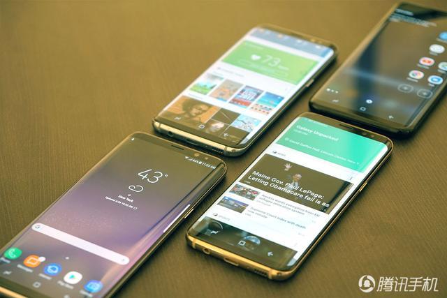 三星Gaxlxy S8上手:智能手机的全视曲面屏来了