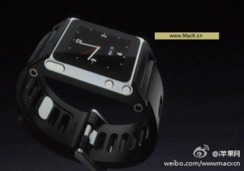 苹果发布会ipod更新 nano6降价变腕表高清图片
