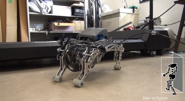 日本研发新型机器狗 行动迅速略显鬼畜