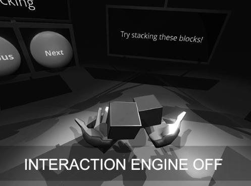 Leap Motion展示VR引擎 能模拟双手还能捡东西