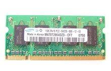 三星 金条DDR2-800 1GB笔记本内存