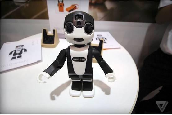 超可爱夏普RoBoHon机器人开卖 能当手机用