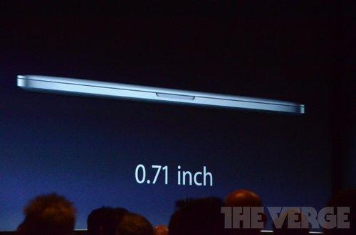 全新MacBook Pro推出 分辨率2880x1800