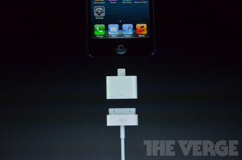 iphone5接口转接头