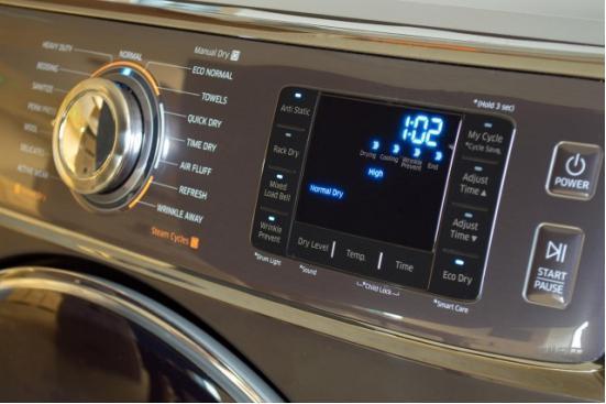 三星高端烘干机新品体验 细节设计出色更节能