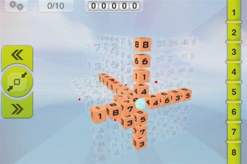 极限高难度益智 iPad三维游戏3D数独