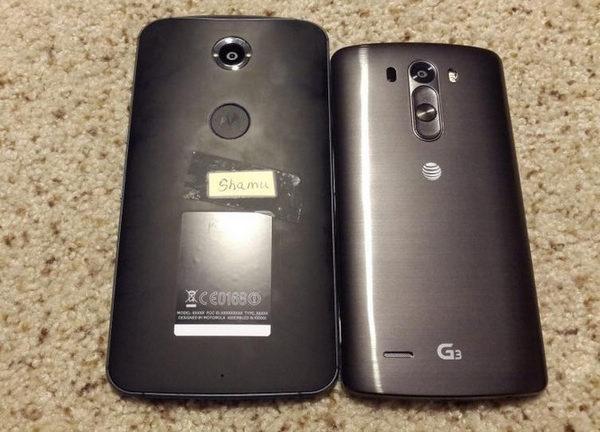Nexus 6正面谍照曝光 搭载Android L系统